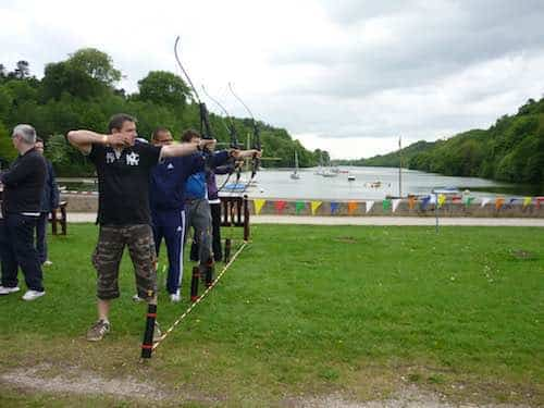 Archery at Rudyard Lake