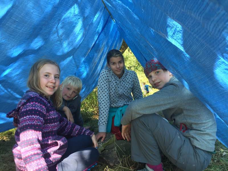 Shelter building at Tegg's Nose Country Park
