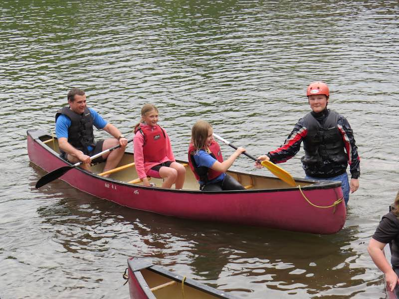 Fancy a Paddle event - Canoeing group