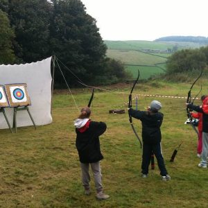 Archery at Tegg's Nose Country Park