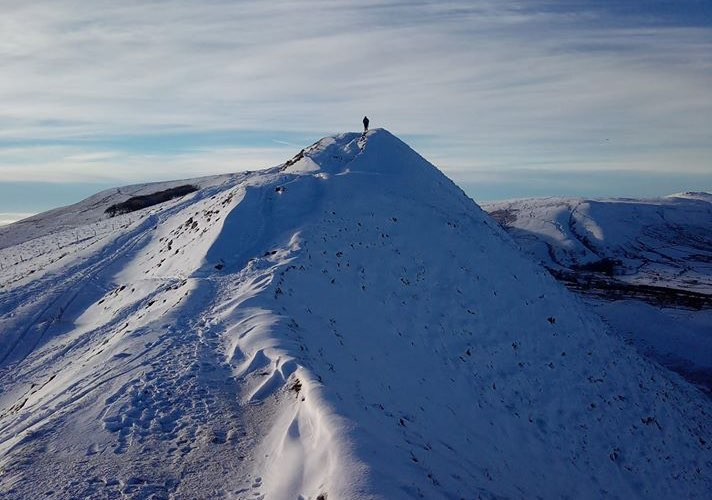 Lord's Seat in Winter