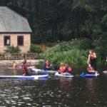 Paddle Boarding at Rudyard Lake